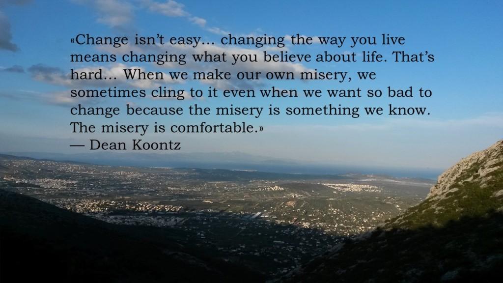Change isn't easy