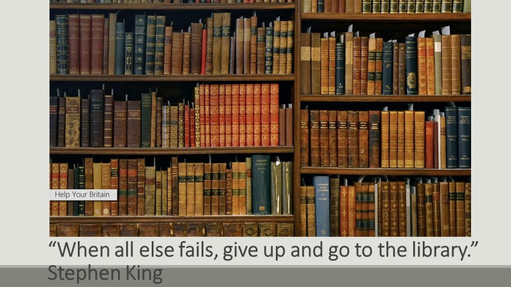 When all else fails, give up