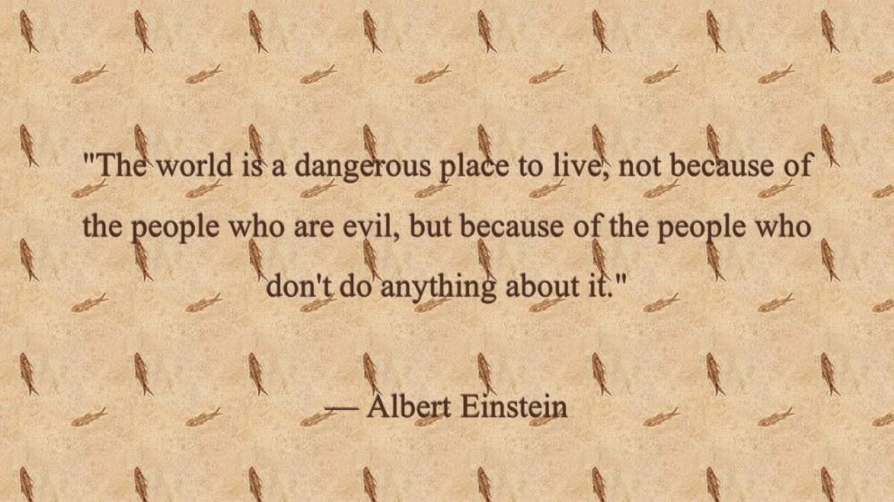 world apathy