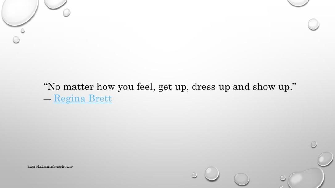 no matter how you feel